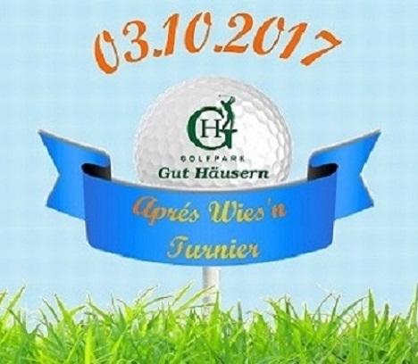 Offenes Turnier – Aprés Wies'n Golfturnier im Golfpark Gut Häusern