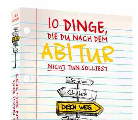 Wege nach dem Abitur – Lesung & Vortrag mit Buchautor Carlo Reumont in Eschenried