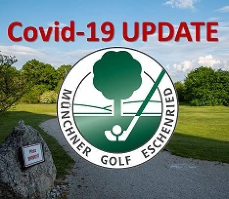 Auflagenbedingte Schließung aller Golfanlagen des Münchner Golf Eschenried