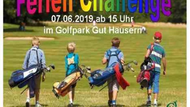 Ferien Challenge für Kids im Golfpark Gut Häusern am 07.06.2019
