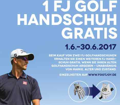 Footjoy Handschuh Aktion