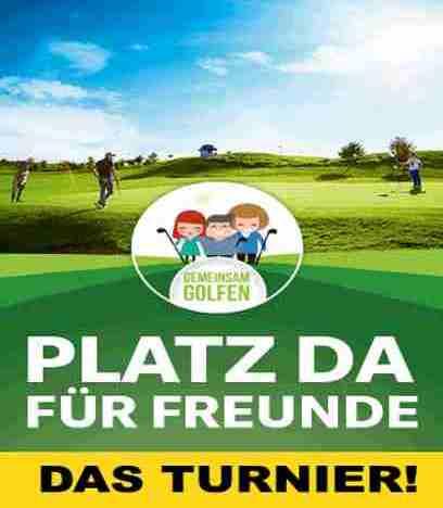 Gemeinsam golfen – Das kostenlose Turnier für alle! Freunde einladen, Spass haben, gewinnen.