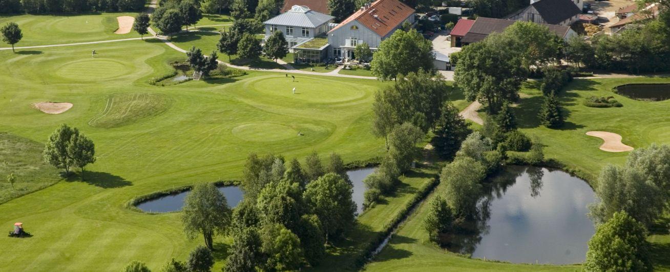 Golfplatz Eschenried Luftbild