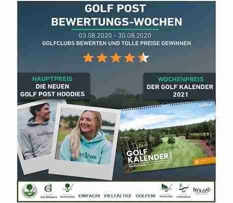 Bewertung abgeben und gewinnen – Golf Post Aktion