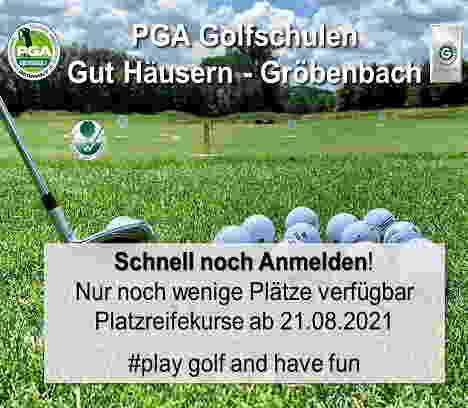 Die besten Platzreifekurse im Münchner Golf Eschenried