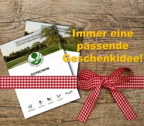 Weihnachtsgutscheine für Greenfee, Golfkurse & Trainerstunden