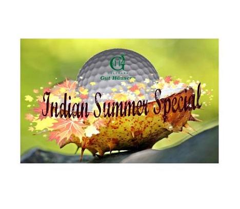 Indian Summer Special 2018 im Golfpark Gut Häusern