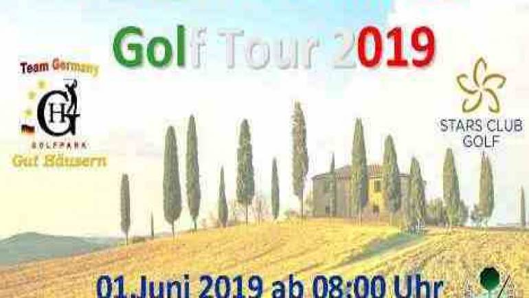 Restplätze für Italian Excellence Golf Tour  01.06.2019 in Gut Häusern