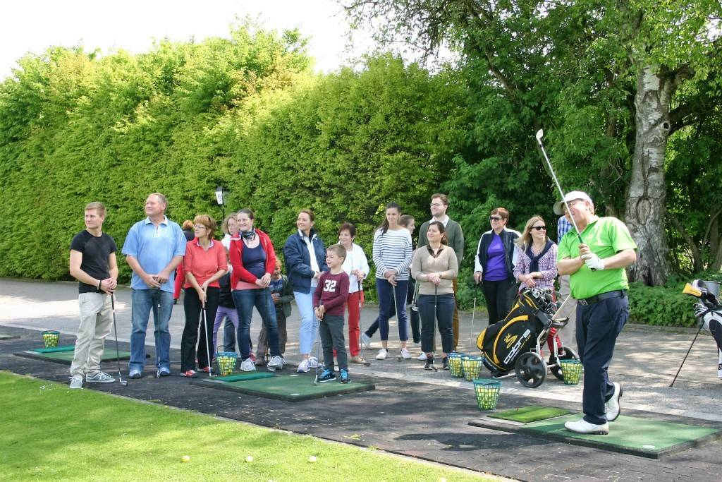 München Golfschule Gröbenbach Schnupperkurs 1 k