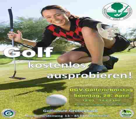 Golferlebnistag in der Golfschule Gröbenbach