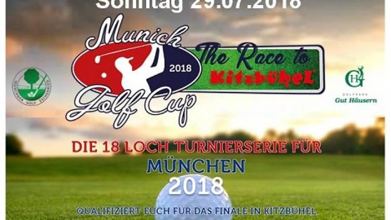 Offenes Turnier – Munich Golf Cup  am 29.07.2018 im Golfpark Gut Häusern