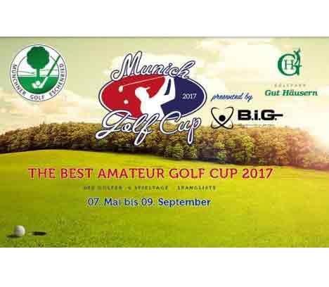Offenes Turnier – Munich Golf Cup  am 09.09.2017 im Golfpark Gut Häusern