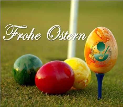 Münchner Golf Eschenried wünscht Frohe Ostern