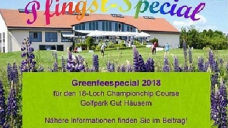 Pfingts-Special 2018 im Golfpark Gut Häusern