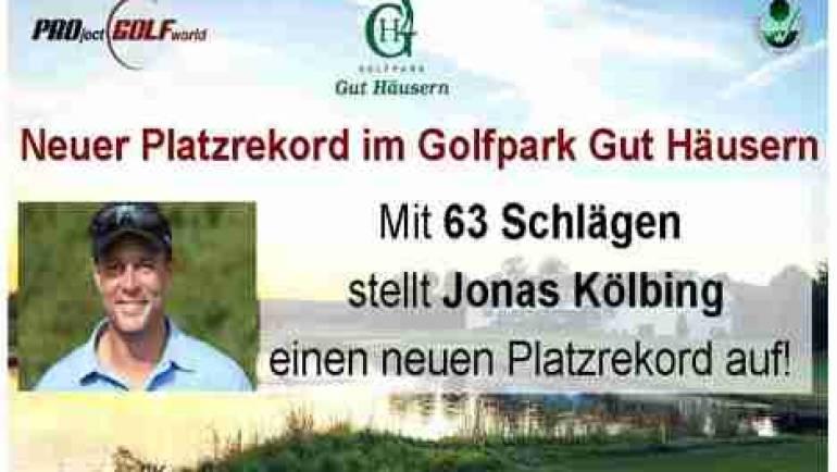 Neuer Platzrekord im Golfpark Gut Häusern!