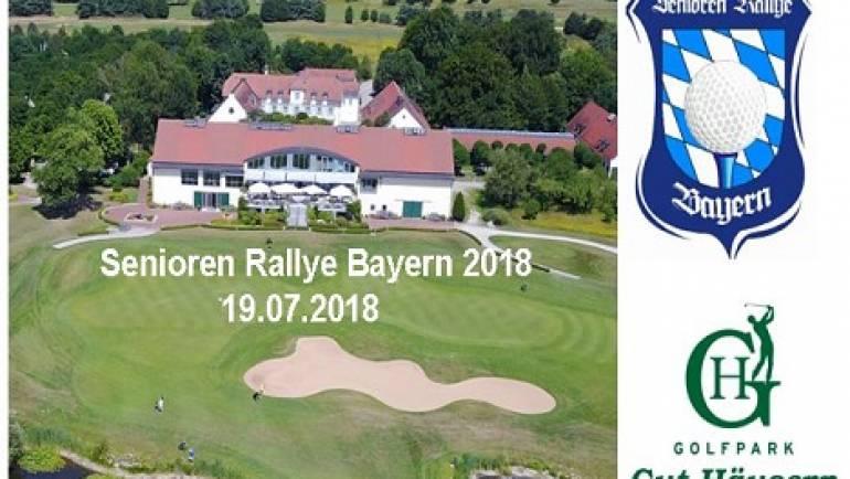 Senioren Rallye Bayern am 19.07.2018 im Golfpark Gut Häusern