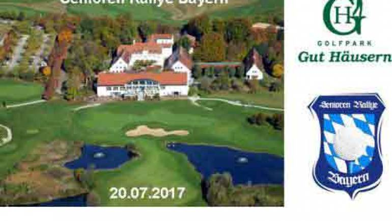 Senioren Rallye Bayern am 20.07.2017 im Golfpark Gut Häusern