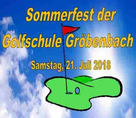 Sommerfest der Golfschule Gröbenbach