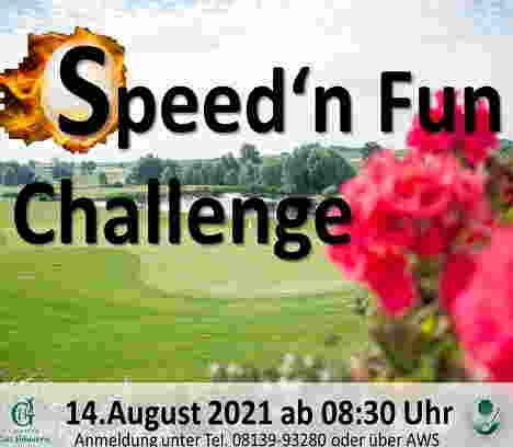 Speed'n Fun Challenge 14.08.2021 im Golfpark Gut Häusern