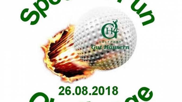 Speed'n Fun Challenge 26.08.2018 im Golfpark Gut Häusern