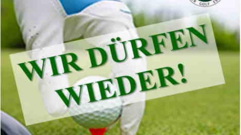 Spielbetrieb ab 08.03.2021 auf allen Anlagen des Münchner Golf Eschenried