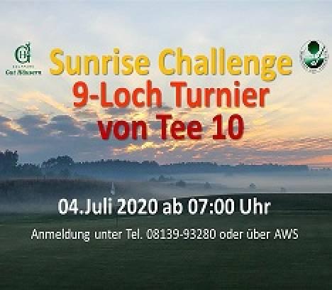 Sunrise Challenge 9-Loch am 04.07.2020 im Golfpark Gut Häusern