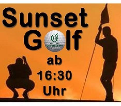 Sunset Golf ab 16.30 Uhr im Golfpark Gut Häusern