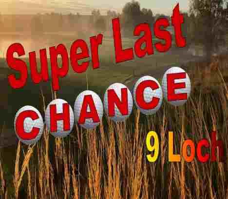 Super Last Handicap Chance – 9-Loch Turnier im Golfpark Gut Häusern